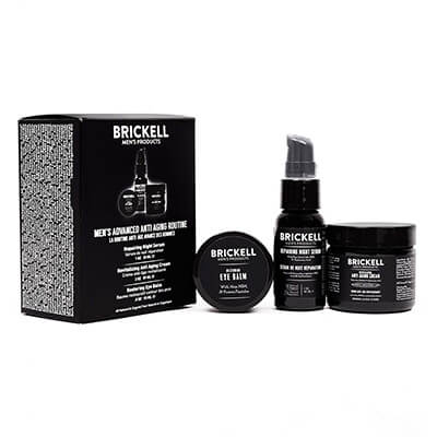 Brickell Men's Advanced Anti-Aging Routine