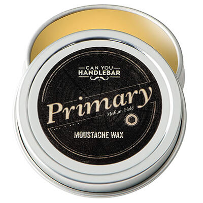 Can You Handlebar All-Natural Primary Moustache Wax