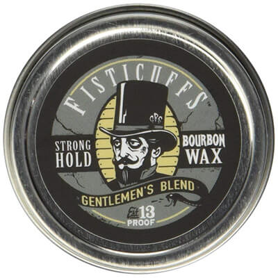 Fisticuffs Strong Hold Mustache Wax Gentlemen