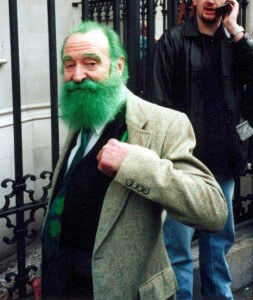 Irish beard