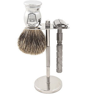 Parker 22R Safety Razor Shave Set
