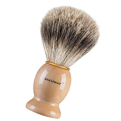 Shaveway Pure Badger Shaving Brush