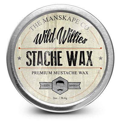 Wild Willie's All Natural Mustache and Beard Grooming Wax