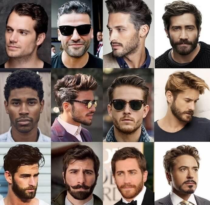 Facial hair attractive