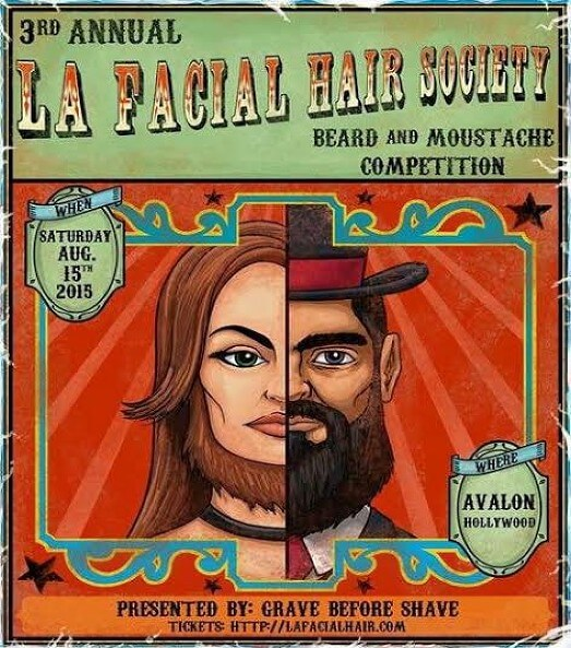 beard and moustache competition