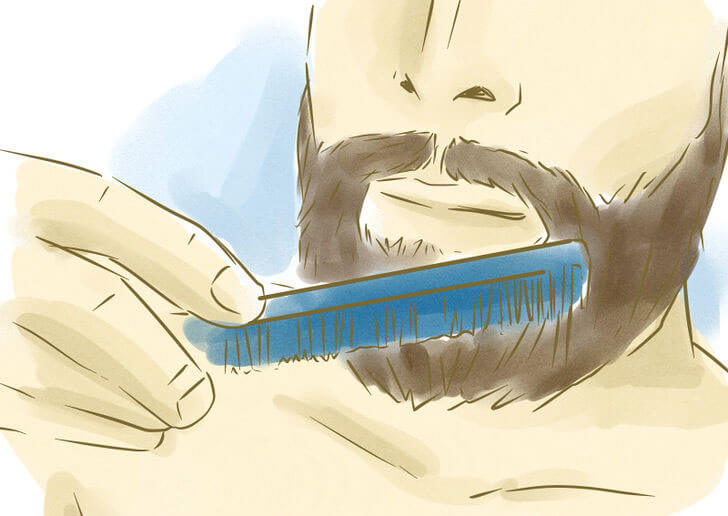 Prepeare beard for shaving