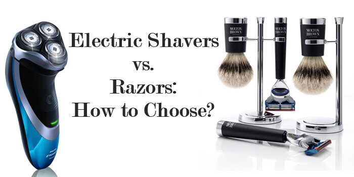 Electric shavers vs razors