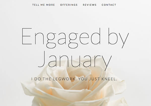 Engaged by January