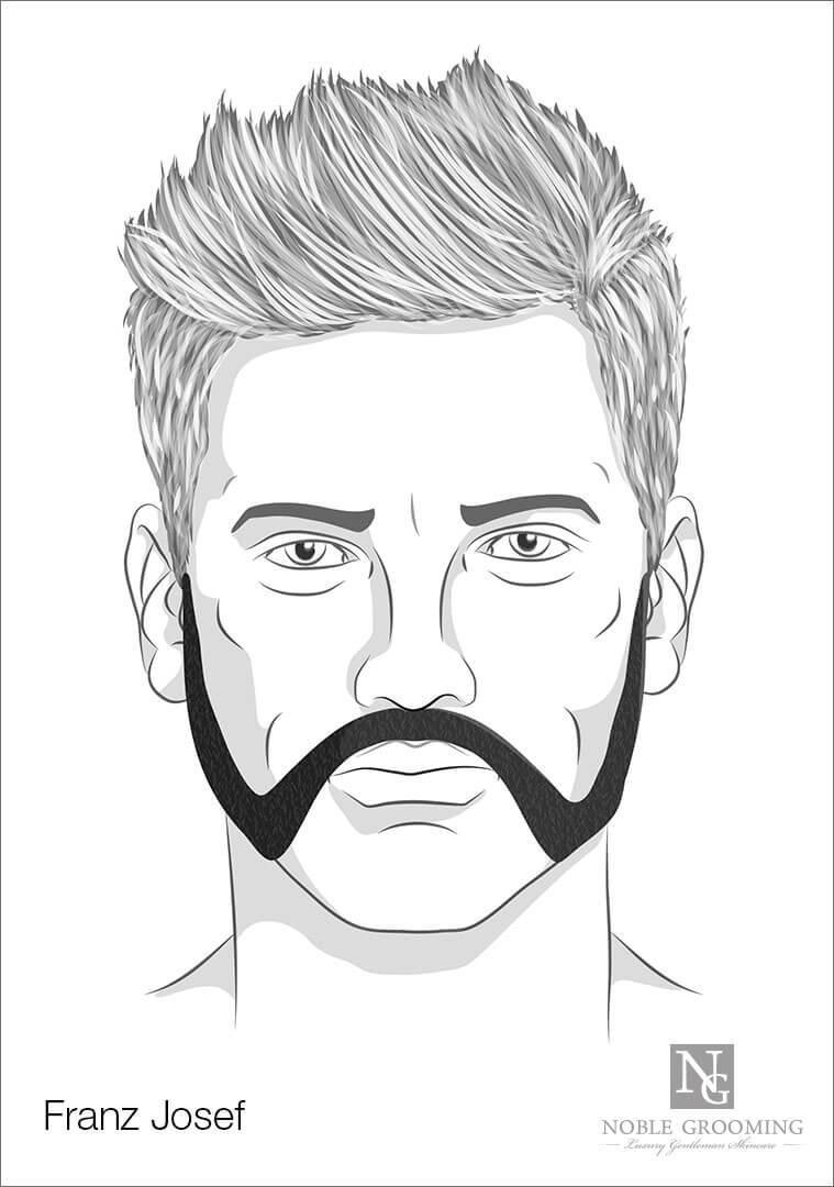 Franz Joseph Beard Style