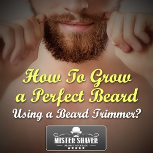 How to grow a beard using beard trimmer