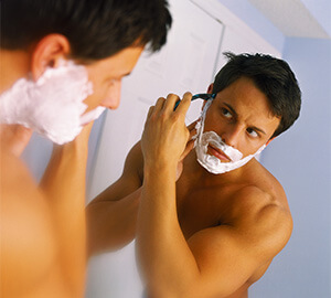How to wet shave your face