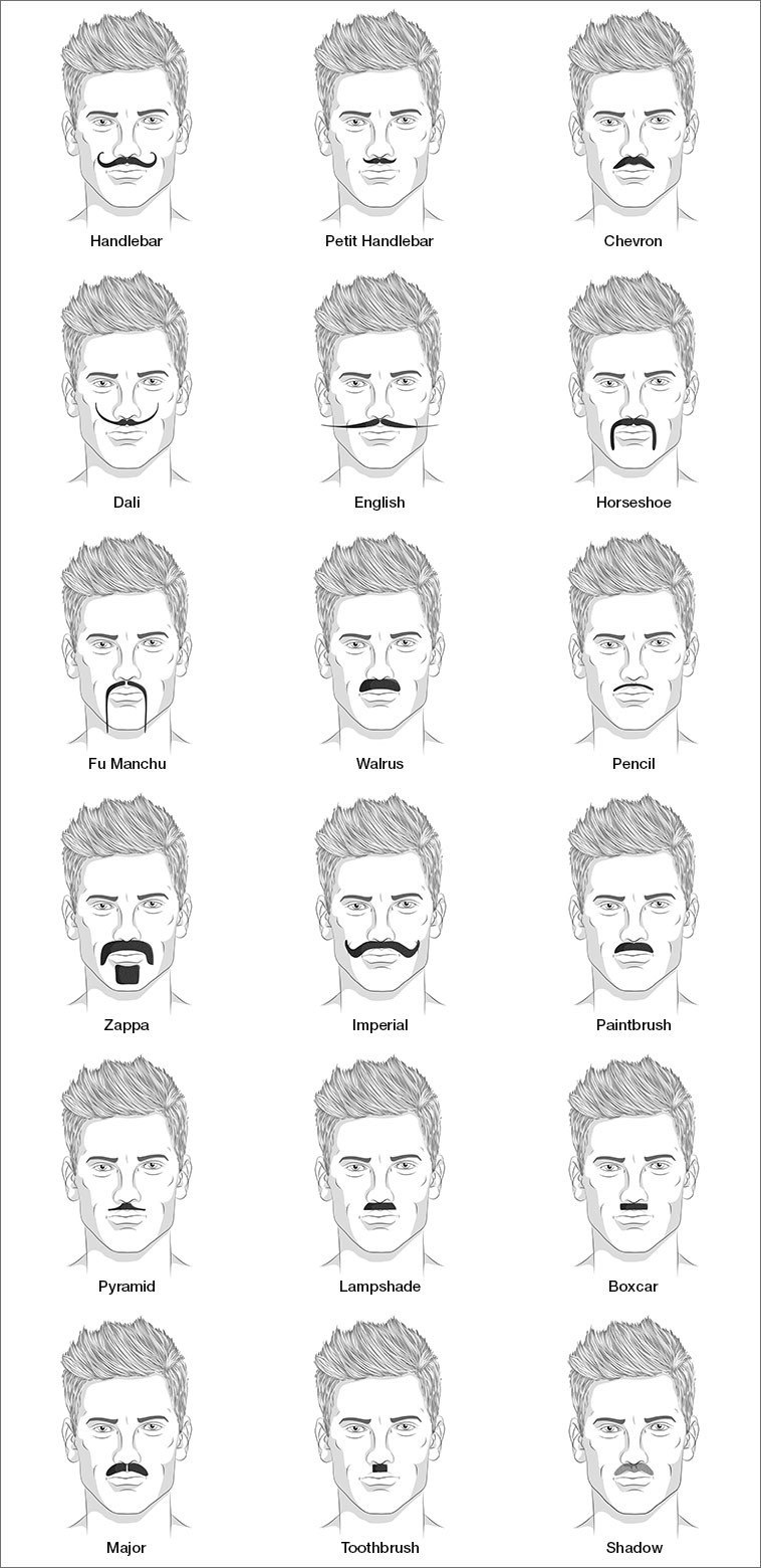 18 Impressive Mustache Styles For Men Would You Try 7 Mister Shaver