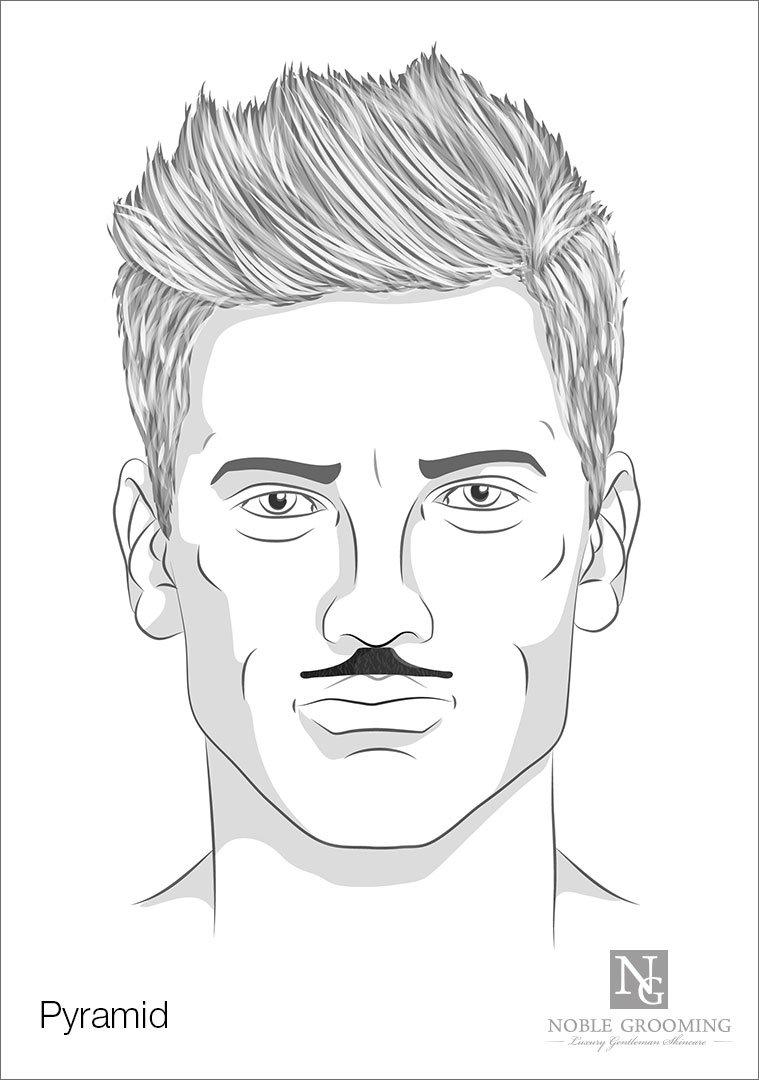 Pyramid Mustache