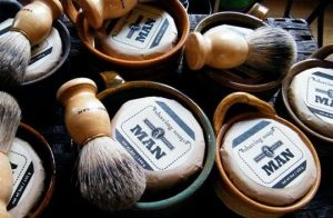 Organic shaving products
