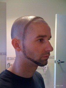 The Space Helmet beard