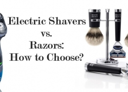 Electric Shaver vs Razor: How to Choose?