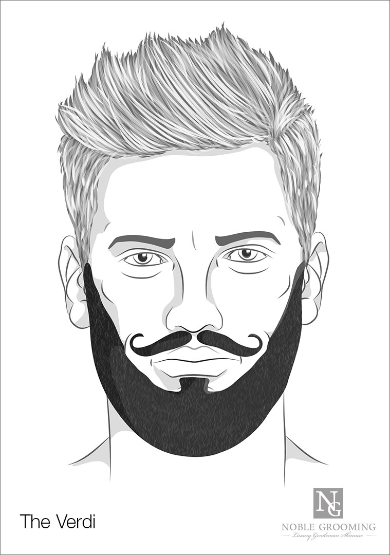 Verdi Beard Style