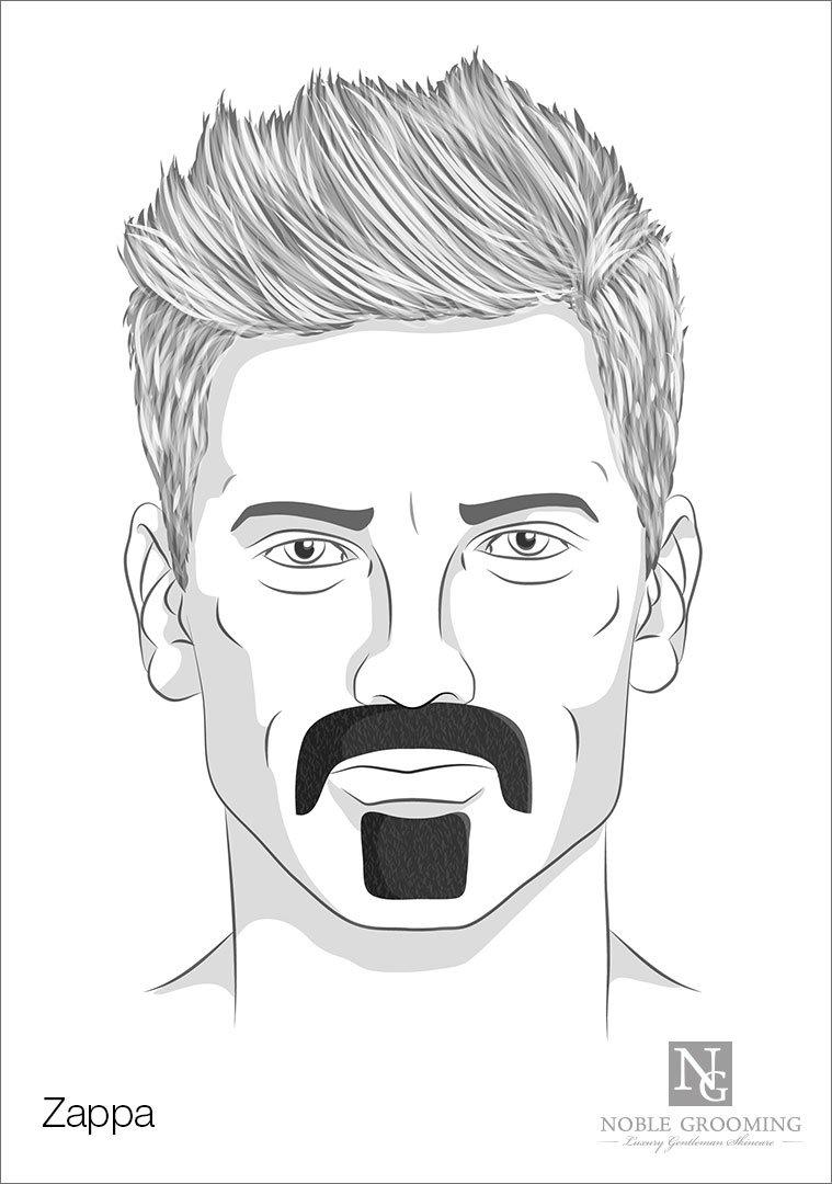 Zappa Mustache Style